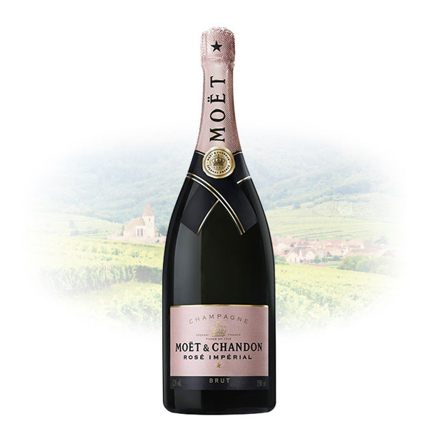 Moet & Chandon Rose Imperial Champagne 1.5 L Magnum, MOETROSEIMPERIAL1.5L の画像