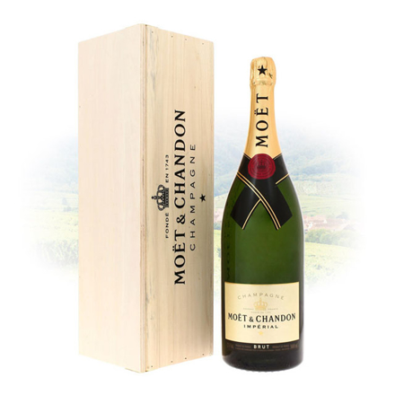 Moet & Chandon Brut Imperial Champagne Jeroboam 3L, MOETIMPERIALJEROBAM の画像