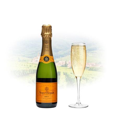 Veuve Clicquot Brut Champagne 375ml (Half Bottle), VEUVEBRUT375 の画像