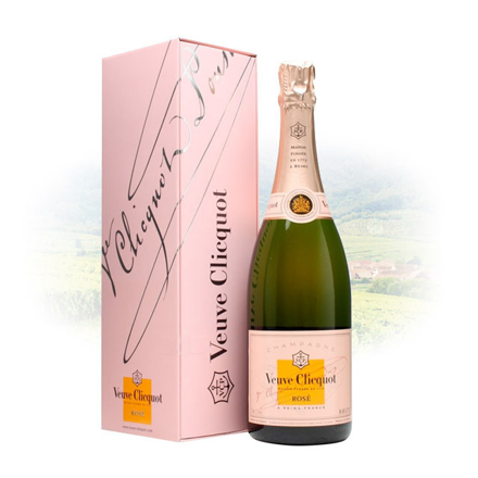 Veuve Clicquot Rose Champagne 750 ml, VEUVEROSE の画像