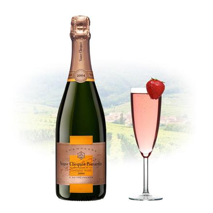 Veuve Clicquot Rose Vintage 2004 Champagne 750 ml, VEUVEROSE2004 の画像