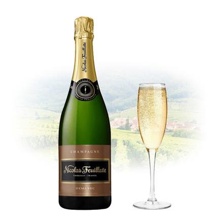 Nicolas Feuillatte Demi-Sec Champagne 750 ml, NICOLASDEMISEC の画像
