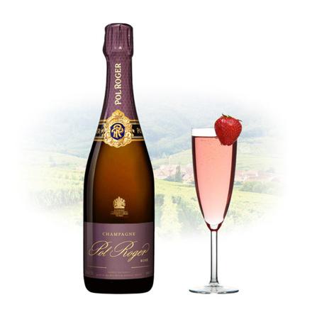 Pol Roger Rose Vintage Champagne 750 ml, POLROGERROSE の画像