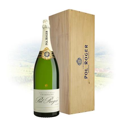 Pol Roger Brut Reserve Champagne 6L Mathusalem, POLROGERRESERVE6L の画像