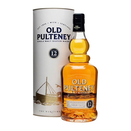Old Pulteney 12 Year Old Single Malt Scotch Whisky 700 ml, OLDPULTENEY12 の画像