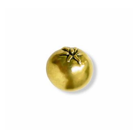 Amerock Knob Tomato Regency Brass, AR9334R1 の画像
