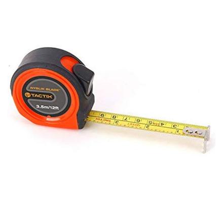 Tactix Tape Measure 3.5m( 12ft.)x 13mm, 5m(16ft.)x19mm, 8m(26ft.)x25mm, ME582003 の画像