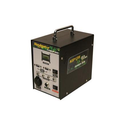 Navigator Solar Power Box, NVNSP15W の画像