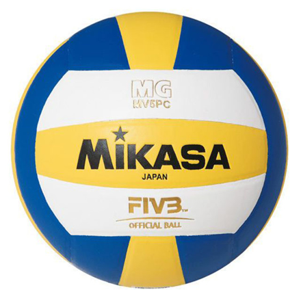 Misaka Synthetic Leatherette Rubber Bladder Volleyball, SYNTHETICVOLLEYBALL の画像