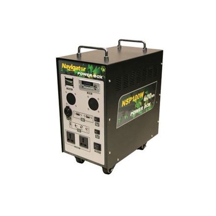 Navigator Solar Power Box, NVNSP100W の画像
