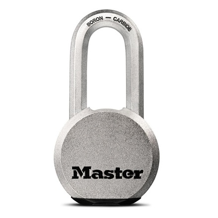 Master Lock Padlock Solid Steel 59mm, MSPM830DLH の画像