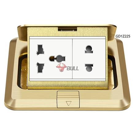 Bull Floor Outlet Universal Socket (White), GD1Z225 の画像