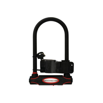 Master Lock U-Lock High Security Hardened Steel 280 x 110 x 13mm Black, MSP8195DPROLW の画像
