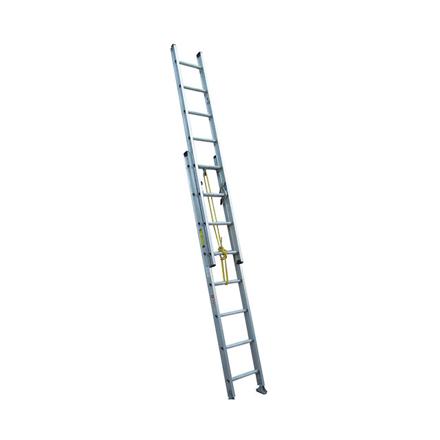 Jinmao Aluminum Extension Ladder 250 lbs (16', 20', 24'), JMAM42208I の画像