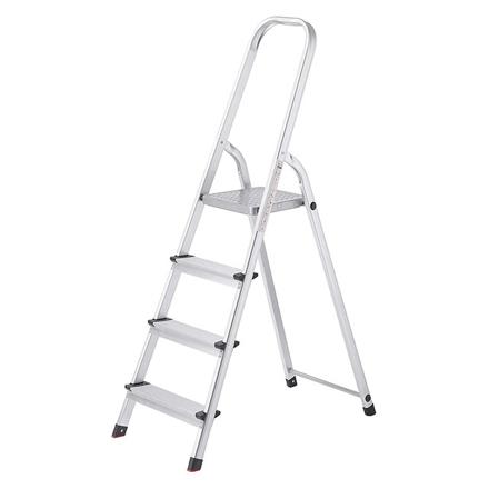 Jinmao Aluminum 4 Steps Household Step Ladder 150 kg, JMA017104 の画像