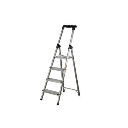 Jinmao Aluminum 4 Steps Household Ladder 150 kg, JMA0112104 の画像