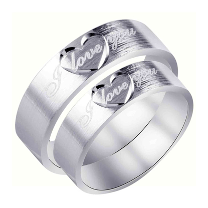 Picture of 925 Silver, Couple Ring- CS-039