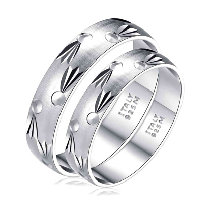 Picture of 925 Silver, Couple Ring- CS-046