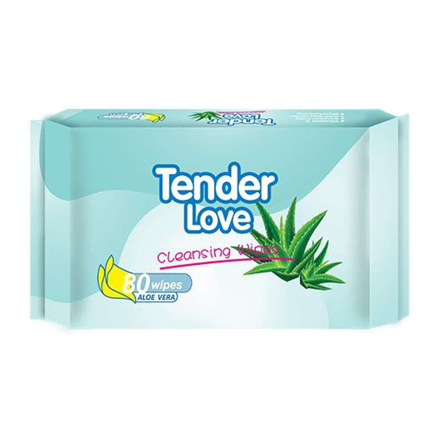 Picture of Tender Love Aloe Vera Cleansing Wipes, TEN27