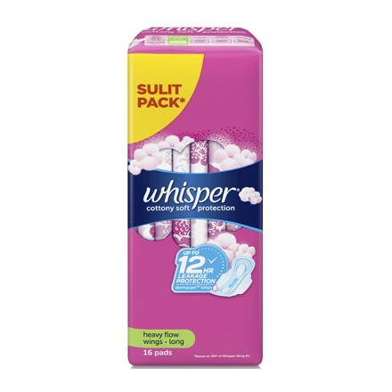 Picture of Whisper Cotton Clean Regular Flow Wings, WHI177