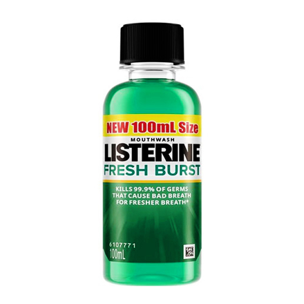 Picture of Listerine Mouthwash 100mL, LIS10