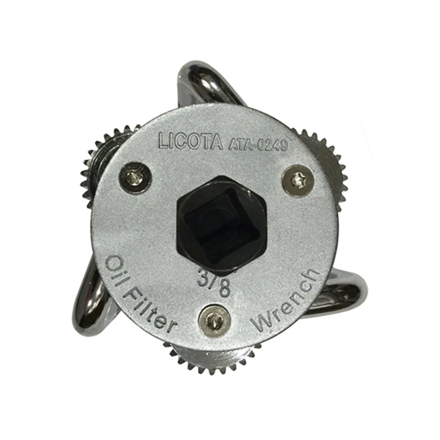 Picture of Licota Three Legged Oil Filter Ratchet Wrench (Black/Silver), ATA-0249