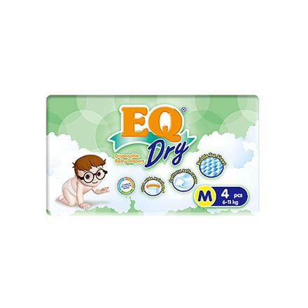 Picture of EQ Diaper Dry Medium 4's, EQ034