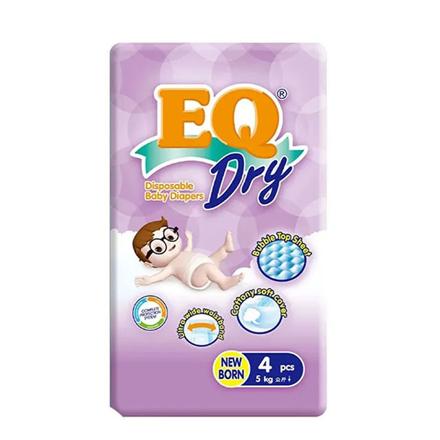 Picture of EQ Diaper Dry Newborn (4's, 22's, 44's), EQ077Y
