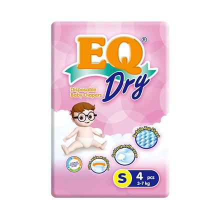 Picture of EQ Diaper Dry Small 4's, EQ033
