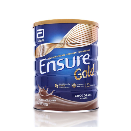 Picture of Ensure Gold Chocolate Gluten and Lactose-free 850g, ENSUREGOLD850