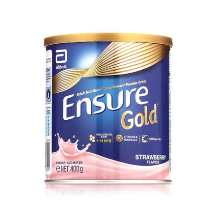 Picture of Ensure Gold HMB Strawberry 400g, ENSURESTRAWBERRY