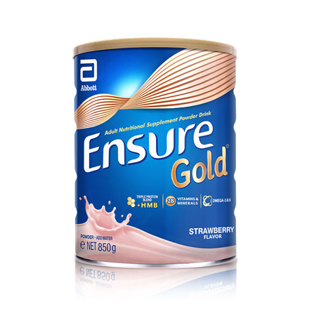 Picture of Ensure Gold HMB Strawberry 850g, ENSURESTRAWBERRY850