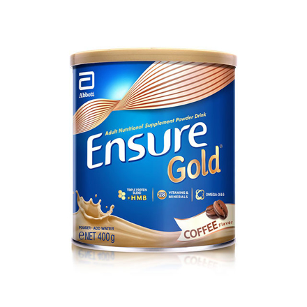 Picture of Ensure Gold HMB Coffee 400g, ENSURECOFFEE400