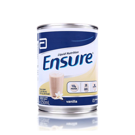 Picture of Ensure Liquid Vanilla 250 ml (Stackable), ENSUREVANILLASTACKABLE