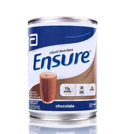 Picture of Ensure Liquid Choco 250 ml (Stackable), ENSURECHOCOSTACKABLE