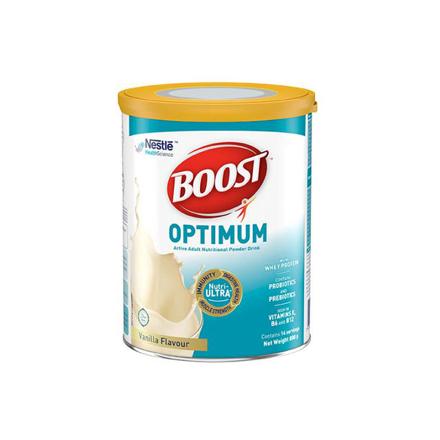 Picture of Nestle Boost Optimum Vanilla Adult Milk Powder 800g, NESTLEBOOST800