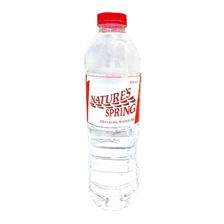 Picture of Nature's Spring Alkaline Drinking Water pH9 (500 ml, 1 L, 6.6 L, 10 L), NAT32