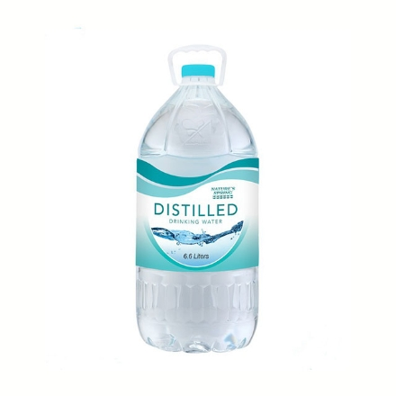 Picture of Nature's Spring Distilled Drinking Water 6.6 L, NAT28