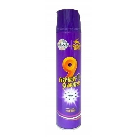 Picture of Goldeer Insecticide (Lemon Fragrance),1 bottle, 1*24 bottle|金鹿杀虫剂紫金(柠檬香),1瓶,1*24瓶